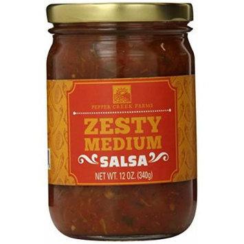 Pepper Creek Farms Zesty Medium Salsa, 12 Ounce
