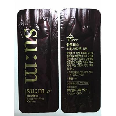 30 X Su:m Samples Flawless Regenerating Cream 1ml(30ml). Super Saver Than Normal Size