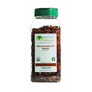 Indus Organic Birds Eye Pepper Whole 6 Oz, Freshly Packed
