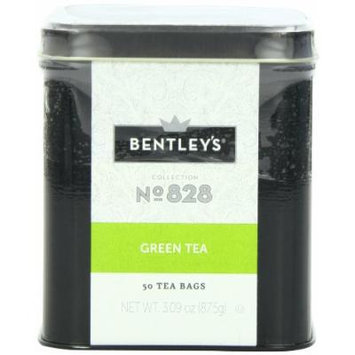Bentley's Harmony Collection Tin, Green Tea, 50 Count