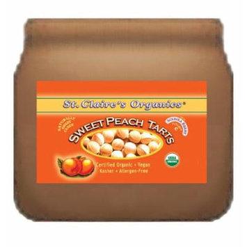 St. Claire's Organics® Sweet Peach Tarts, 8 oz Bulk Bag