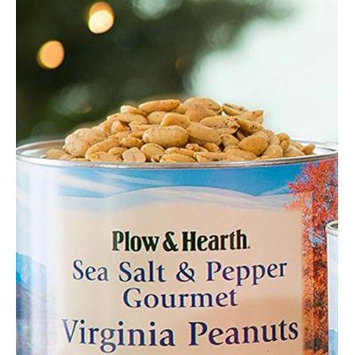 Extra Large Virginia Peanuts, 40 oz tin, in Sea Salt and Pepper
