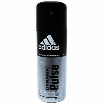 Adidas Dynamic Pulse 24 Hours Fresh Boost Deo Body Spray for Men, 5 Ounce 6 pack