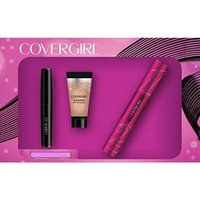 CoverGirl Bombshell Mascara Intensity Liner and Shine Shadow Gift Set