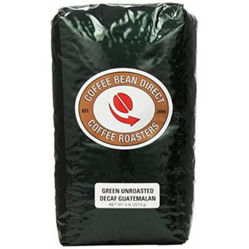 Green Unroasted Decaf Guatemalan, Whole Bean Coffee, 5-Pound Bag