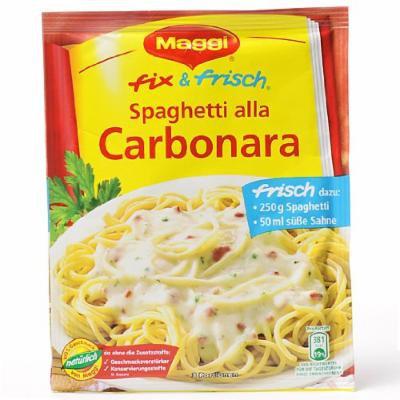 MAGGI fix & fresh Spaghetti alla Carbonara (Pack of 4)