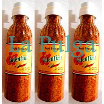 3 - Valentina Fruit Seasoning Chili Powder Mexican Product 4.93 oz Each