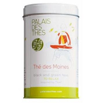 Palais des Thés Thé des Moines Black & Green Tea, 3.5oz Metal Tin