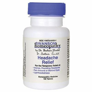Swanson Headache Relief 100 Tabs
