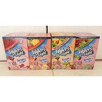 Wyler's Soft Drink Mix Combo, 3 Cool Raspberry, 3 Strawberry Lemonade, 3 Peach Iced tea, 3 Cherry Limeade.. (12 Pack).. HPVagr