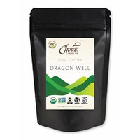 Choice ORGANIC TEAS Loose Leaf Tea, Dragon Well, 1 Pound