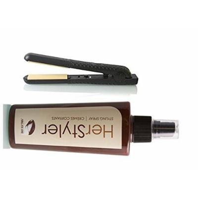 Herstyler Colorful Seasons 1.5 inches Ceramic Straightener with FREE HerStyler Styling Spray with Argan Oil (Classic Forever)