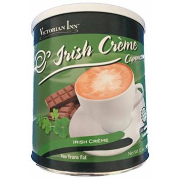 Victorian Inn Instant Cappuccino, Irish Creme, 32-ounce Canister