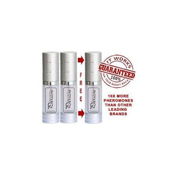 PHERAZONE SUPER CONCENTRATED 3 BOTTLES Pheromone Cologne for MEN to Attract Women Scented Pheromones 72mg per ounce