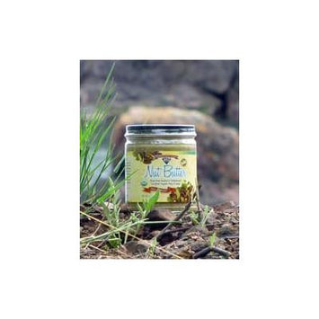 Nut Butter, Organic, Raw, Soaked & Dried, Fall Harvest, 8 oz. jar