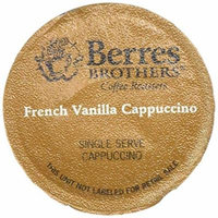 Berres Brothers French Vanilla Cappuccino Single Serve Cups