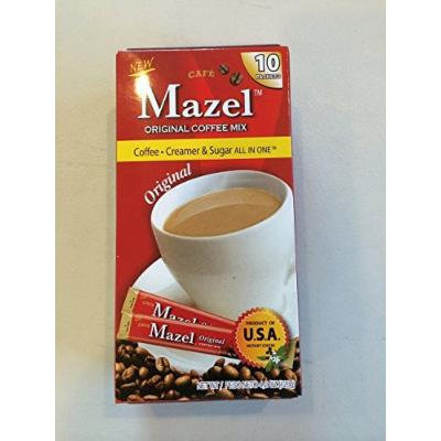 New Mazel Original Coffee Mix 10 Packets 4.2oz (2 Pack)