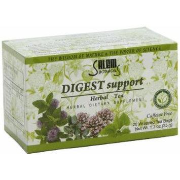 Salem Botanicals Herbal Tea, Digest Support, 20 Count