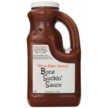 Bone Suckin Gourmet Foods BBQ Sauce, 64 Ounce