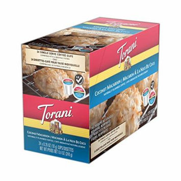 Torani Coconut Macaroon Single Serve Coffee Cups - 24 Count
