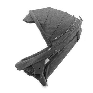 Stokke Crusi Stroller and Sibling Seat (Black melange)