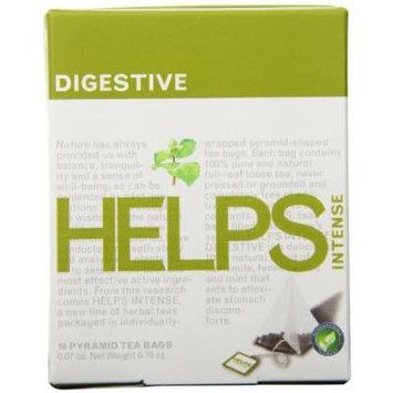 Helps Intense Herbal Teas, Digestive, 10 Count (Pack of 12)