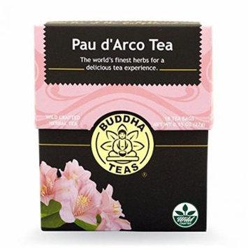 Pau D'arco Tea - Organic Herbs - 18 Bleach Free Tea Bags