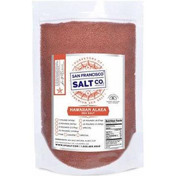 Traditional Hawaiian Alaea Salt (25lb bulk bag Fine Grain)