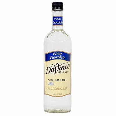 Da Vinci Sugar Free White Chocolate Syrup 25.4oz