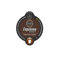 TULLY'S ESPRESSO ROAST COFFEE VUE PACKS 32 COUNT