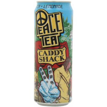 Peace Tea, Caddy Shack Tea + Lemonade, 23 Ounce (Pack of 12)