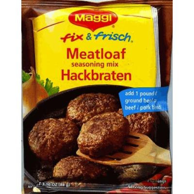 Maggi Hackbraten (Meat Loaf) Mix, 3.11-Ounce (Pack of 12)