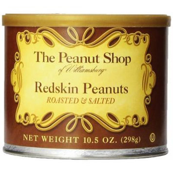 The Peanut Shop of Williamsburg Redskin Peanuts, 10.5 Ounce