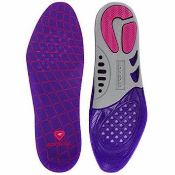 Sof Sole Women's Gel Support Shoe Insoles, Null, Medium/5-10 M US