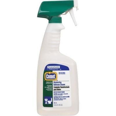 Comet® Spray-on Disinfecting Bathroom Cleaner Spray, 32 oz.