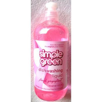 SIMPLE GREEN Dish Washing Liquid PINK GRAPEFRUIT 16 oz.