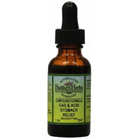 Alternative Health & Herbs Remedies Gas, Acid Stomach, 1-Ounce Bottle (Pack of 2)