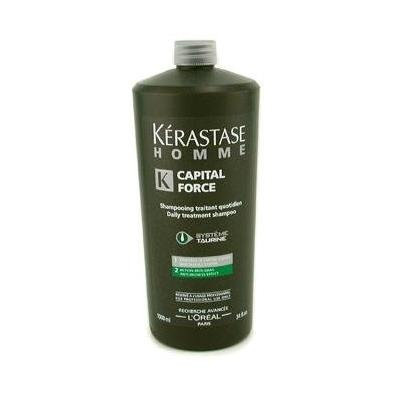 Homme Capital Force Daily Treatment Shampoo ( Anti-Oiliness Effect ) 1000ml/34oz