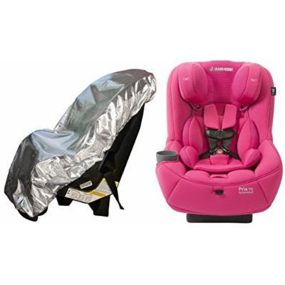 Maxi-Cosi Pria 70 Convertible Car Seat with Easy Clean Fabric and Sun Shade, Pink Berry