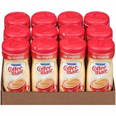 Nestlé COFFEE-MATE Coffee Creamer, Original, 11oz powder creamer, Pack of 12