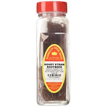 Marshalls Creek Spices Honey Straws, Root Beer, 8.82 Ounce