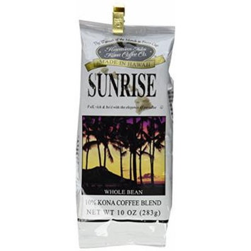Kona Sunrise 10 oz Whole Bean Coffee