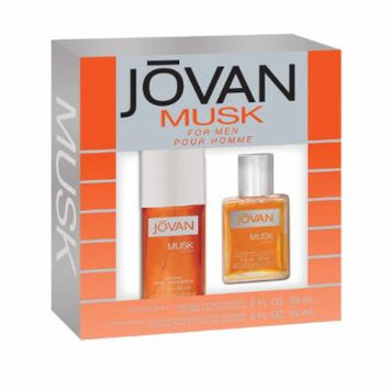Jovan 2 Piece Fragrance Set Jovan Musk Spray for Men