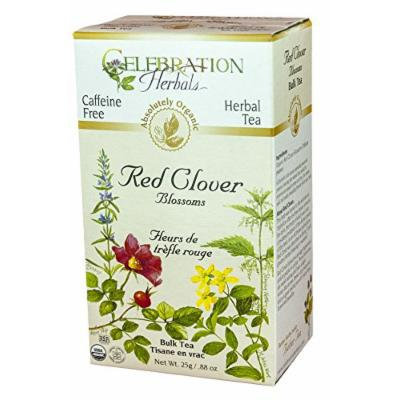 Celebration Herbals Tea Loosepack Herbal Organic Red Clover Blossoms -- 25 g