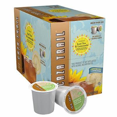 Caza Trail Tea, Iced Tea & Lemonade, 24 Single Serve Cups