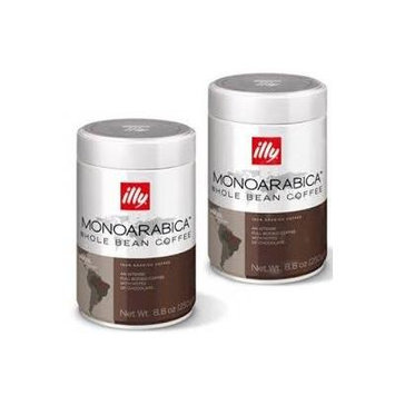 illy Brazilian 8.8 Ounce Whole Bean Coffee (2 Pack) 7882