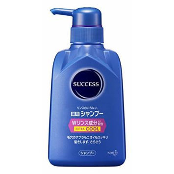 Success medicated shampoo (W rinse ingredients) Extra Cool [body] (350mL)