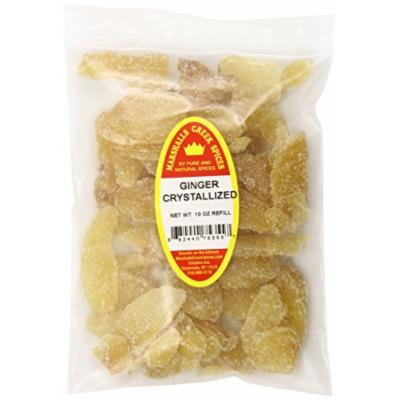 Marshalls Creek Spices X-Large Refill Ginger Crystallized, 10 Ounce
