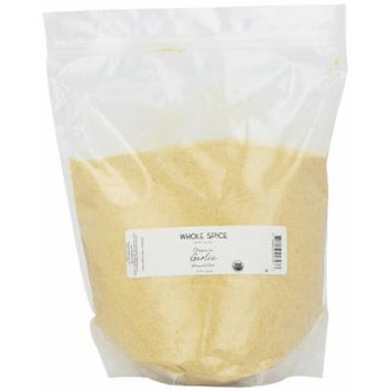 Whole Spice Garlic Granulated Organic, 5 Pound