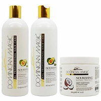Dominican Magic Nourishing Shampoo & Conditioner & Deep Fortifying Conditioner